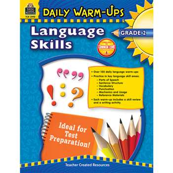 Daily Warm Ups Language Skills Gr 2 By Teacher Created Resources