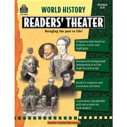 World History Readers Theater Gr5-8 By Teacher Created Resources