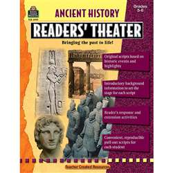 Ancient History Readers Theater Gr 5-8 By Teacher Created Resources