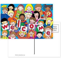 Kids Welcome Postcards 30Pk By Teacher Created Resources
