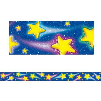Shooting Stars Straight Border Trim By Teacher Created Resources