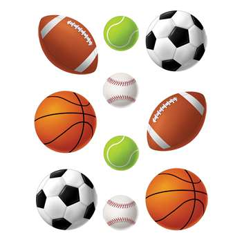 Sports Balls Accents By Teacher Created Resources