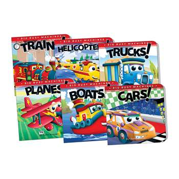 Big Machines Board Book Set Of 6, TCR418723