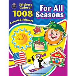 For All Seasons Sticker Book 1008Pk By Teacher Created Resources