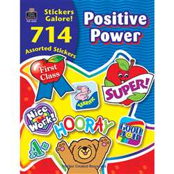 Positive Power Sticker Book 714Pk By Teacher Created Resources