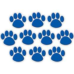 Accents Blue Paw Prints By Teacher Created Resources
