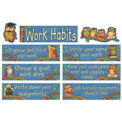 Sw Wise Work Habits Mini Bulletin Board Set By Teacher Created Resources