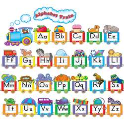 Alphabet Train Bulletin Board Set By Teacher Created Resources