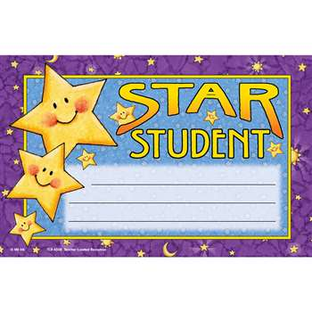 Star Student Awards 25Pk Mary Engelbreit By Teacher Created Resources