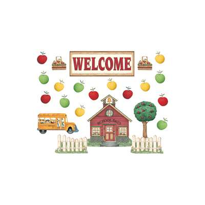 Dm Schoolhouse Welcome Bbs By Teacher Created Resources