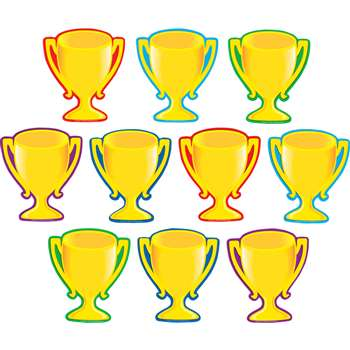 Trophy Cups Accents 30/Pk By Teacher Created Resources