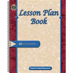 Lesson Plan Book By Teacher Created Resources