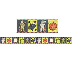 Bordertrim Straight Sw Halloween By Teacher Created Resources