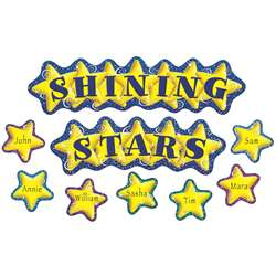 Shining Stars Mini Bulletin Board Set By Teacher Created Resources