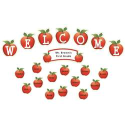 Apples And Dots Welcome Mini Bulletin Board Set By Teacher Created Resources