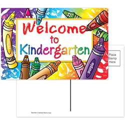 Welcome To Kindergarten 30/Pk Postcards By Teacher Created Resources