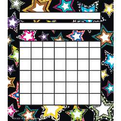 Fancy Stars Incentive Charts Pack By Teacher Created Resources