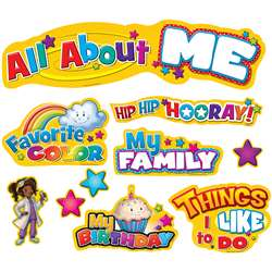 All About Me Mini Bulletin Board By Teacher Created Resources