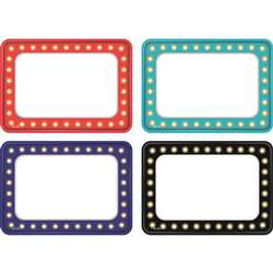 Marquee Name Tag Labels Multi Pack, TCR5433