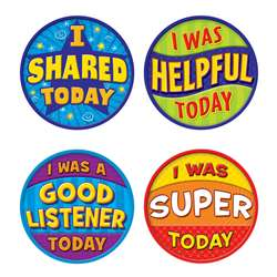 Shop Good Behavior Wear Em Badges - Tcr5471 By Teacher Created Resources