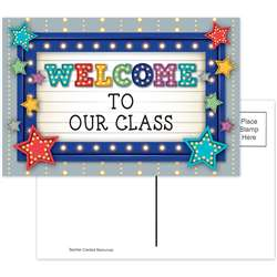 Marquee Welcome Postcards, TCR5486