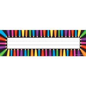 Colored Pencils Name Plates, TCR5512