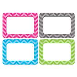 Shop Chevron Name Tags - Multi Pack - Tcr5526 By Teacher Created Resources