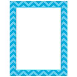 Shop Aqua Chevron Computer Paper - Tcr5529 By Teacher Created Resources