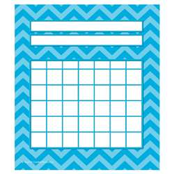 Shop Aqua Chevron Incentive Charts Pack - Tcr5530 By Teacher Created Resources