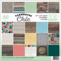 Farmhouse Chic Project Paper, TCR5581