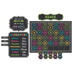 Chalkboard Brights Calendar Bb Set, TCR5615