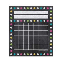 Chalkboard Brights Mini Incentive Charts, TCR5625