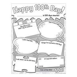Happy 100Th Day Poster Pack, TCR5640