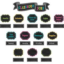 Chalkboard Brights Classroom Jobs Mini Bulletin Bo, TCR5653