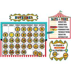 Carnival Calendar Bulletin Board Set, TCR5720