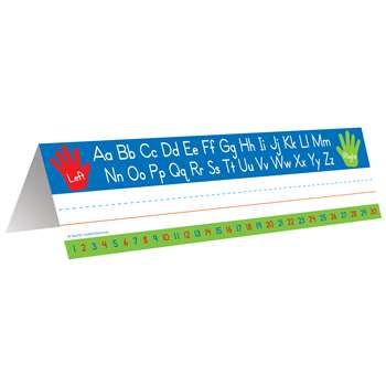 Left Right Alphabet Tent Name Plate, TCR5723