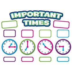 Important Times Mini Bulletin Board Set, TCR5785