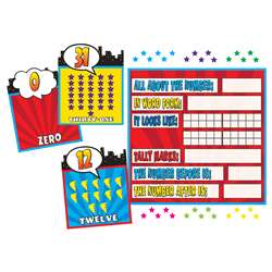 Superhero Counting 0-31 Bulletin Board Set, TCR5843