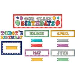 Marquee Our Class Birthdays Mini Bulletin Board, TCR5892