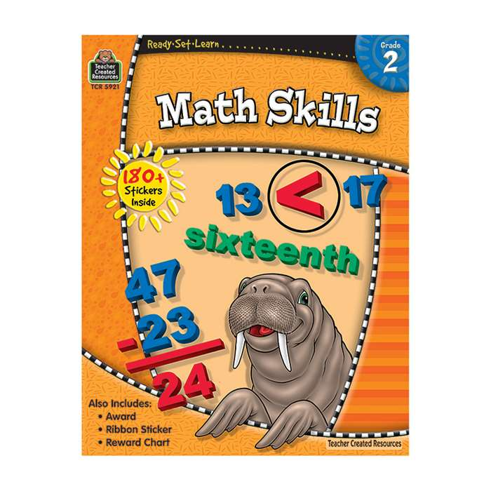 Ready-Set-Learn Math Skills Gr 2 By Teacher Created Resources