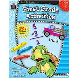 Ready Set Learn First Grade Activities By Teacher Created Resources