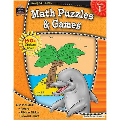 Ready Set Lrn Math Puzzles & Games Grade 1 By Teacher Created Resources