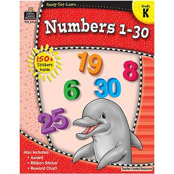 Redy Set Learn Numbers 1-30 Grade K By Teacher Created Resources