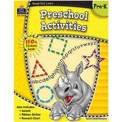 Ready Set Lrn Preschool Activities Grade Pk By Teacher Created Resources