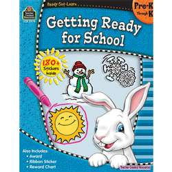 Ready Set Learn Getting Ready For School Gr Pk-K By Teacher Created Resources
