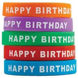 Happy Birthday Wristbands, TCR6559