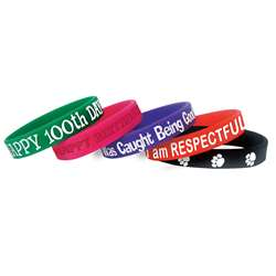 Character Traits Wristbands, TCR6569