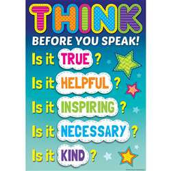 Before You Speak Positive Poster, TCR7408