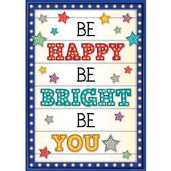 Be Happy/Be Bright/Be You Poster, TCR7410
