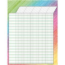 Colorful Scribble Incentive Chart, TCR7526